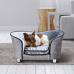 PawHut Luxus Hundesofa Katzensofa Tier Sofa Hundecouch Couch Hundebett Tierbett
