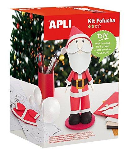 Apli Paper Ref. 13915 Kit Fofucha Papa Noel