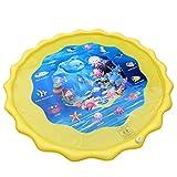 HappySDH Splash Pad Wasserspielzeug spielmatte Outdoor Sommer Garten Splash Spielmatte für Baby Party Sprinkler und Splash Play Matte 63