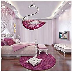 Arte de personalidad creativa lámpara infantil simple habitación lámparas cisne lámpara nido balcón dormitorio lámpara chandelier,Color de la imagen principal