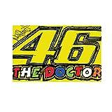 Valentino Rossi Flag 46 The Doctor Multicolor 140x90, MotoGP, VR209403