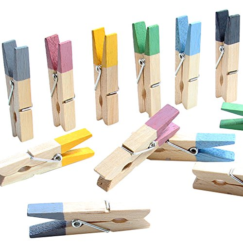 dym Magnete - Magnet Clips für Kühlschrank, Whiteboard, Magnettafel, Pinwand, Magnetwand - Farbige Magnetklammern Blau, Gelb, Grau, Grün, Lila, Schwarz, WM Farben ()