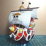 لعبة كرتونية مجسمة لسفينة الابحار من المسلسل الكرتوني ون بيس ثاوزند ساني