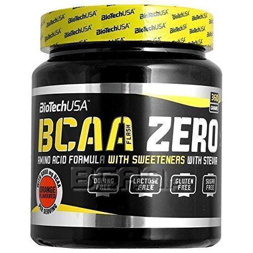 BioTech Bcaa Flash Zero Aminoácidos Sabor Manzana - 360 gr