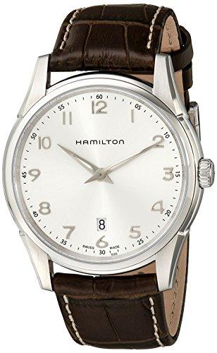 Hamilton, Herren-Armbanduhr Analog Automatik Leder, H38511553