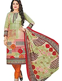 Party Wear Pure Cotton Salwar Suit For Women & Girls(free Size), Women's Cotton Unstitched Dress Material With...