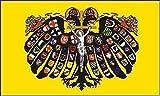 UB Aufkleber Quaternionen Adler Heiliges Römisches Reich Dt. Nationen 15 cm x 10 cm Flagge / Fahne (Autoaufkleber)
