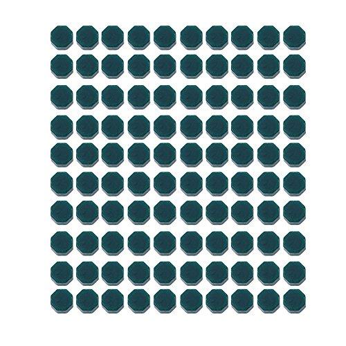 Domybest 100 Stück Wachs zum Kaufen Vintage Wachs Siegel Wachsperlen achteckig für Briefmarken grün