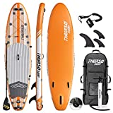 THURSO SURF Waterwalker Planche Paddle Gonflable Polyvalente Stand Up Paddle Sup...