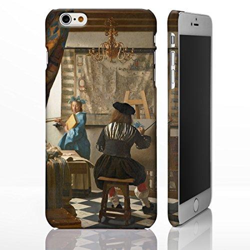 Schutzhüllen, für iPhone, mit Motiven aus der klassischen Kunst, Gemälde berühmter Künstler, plastik, Composition VIII - Candinsky, iPhone 6 The Art of Painting - Jan Vermeer