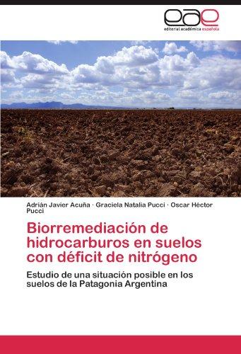 Biorremediación de hidrocarburos en suelos con déficit de nitrógeno por Acuña Adrián Javier