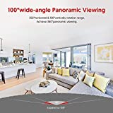 Victure Dualband 2.4Ghz and 5Ghz WiFi Camera 1080P FHD Home Security Camera with Motion Detection via IPC360 Pro, 2-Way Audio for Baby/Elder/Pet Monitor