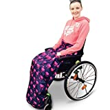 BundleBean Adult Waterproof Fleece Lined Wheelchair Cosy | Wheelchair Cover | Waterproof Blanket