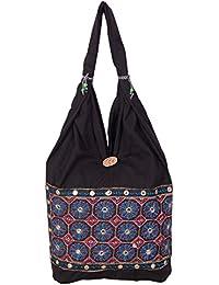 Womaniya Women's Shoulder Bag (Black) (Woman-898)