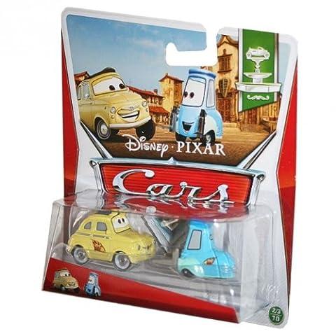 Disney Cars 2 Festival Italiano Die Cast Race Team Luigi & Guido #2-3/10