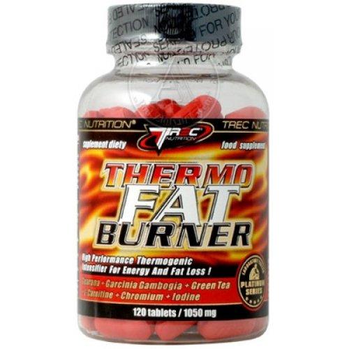 Trec Nutrition - Thermo Fat Burner - 120 Tabletten Fettblocker & Abnehmen, Diät