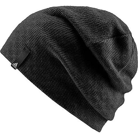adidas Performance Bonnet Enfant Black/Black/White FR: Taille Unique (Taille Fabricant: OSFY)