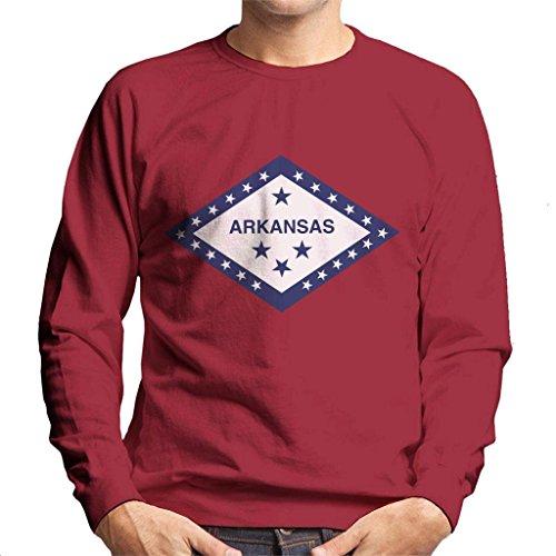 Coto7 Arkansas State Flag Men's Sweatshirt