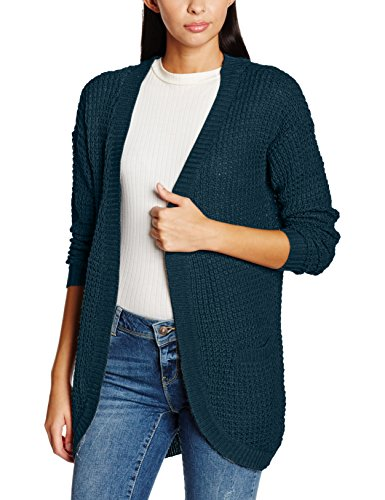 only-onlemma-xo-l-s-long-cardigan-knt-noos-gilet-femme-vert-reflecting-pond-36-taille-fabricant-smal