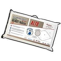 V.I.P. Very Important Pillow Cuscino Memory, Saponetta, Fodera Jacquard No Stress