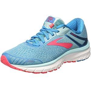 Brooks Adrenaline GTS 18, Zapatillas de Running para Mujer, Turquesa (Blue/Mint/Pink 1b408), 39 EU