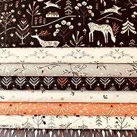 Dashwood - Juego de tela navideña (55 x 50 cm, 100% algodón)