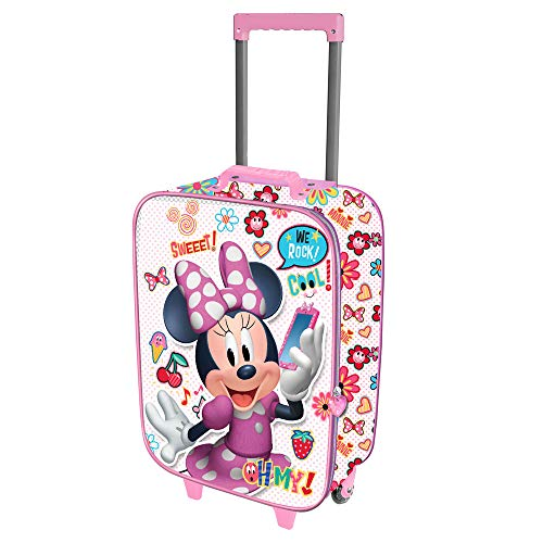 Karactermania Minni Mouse Ohmy!-Valigia Trolley Soft 3D