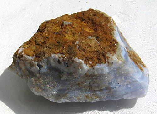 Blauer Chalcedon, Rohstein 164 g., Namibia
