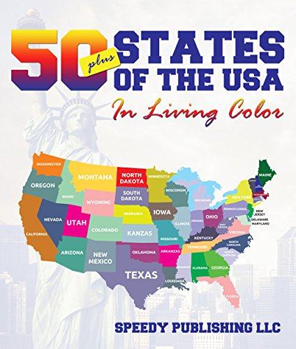 Fifty+ States Of The USA In Living Color (English Edition)