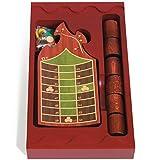 Spiele der Antike–Brettspiel, Holz Schläger Rot (Games Pico Pao 199)