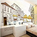 XCMB 3D wallpaper Benutzerdefinierte Foto Kinder Tapete Einfache Fotos Von Stadt Hintergrund Für Kinder Bettwäsche Zimmer Hintergrund Wandpapierwandbild-300cmx210cm