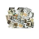 CAOLATOR 60 Blatt Mädchen Sticker Aufkleber Kinder Deko Papier Stickerbögen Vintage für Stickerbuch Tagebuch Fotoalbum Notizbuch Kalender Dekoration Scrapbooking,(#4)