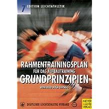 Rahmentrainingsplan für das Aufbautraining, Grundprinzipien