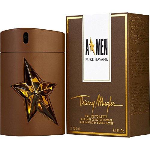 Thierry Mugler Angel (Thierry Mugler A*MEN Angel Men Pure Havane 100ml/3.4oz EDT Cologne Perfume Spray)