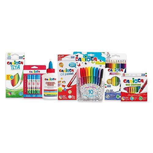 CARIOCA SET DIY   53227 - Kit Fai da Te per Lavori Creativi, Materiale Assortito, 62 pezzi