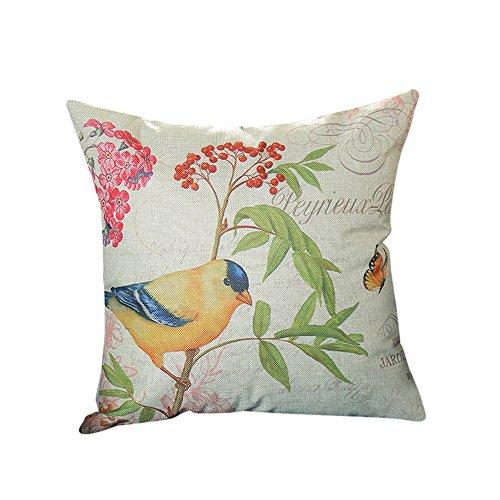 Ginli stampa federe lino cotone divano cuscino copertina home decor divano tiro cuscino copricuscino bohemien