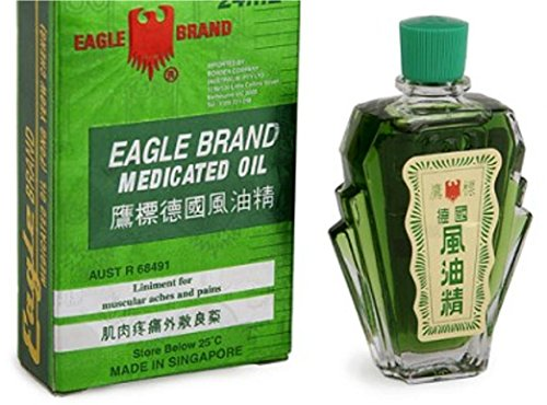 Eagle Brand Medicated Oil, 24ml, natürliche Kräuter / Öl - Komposition