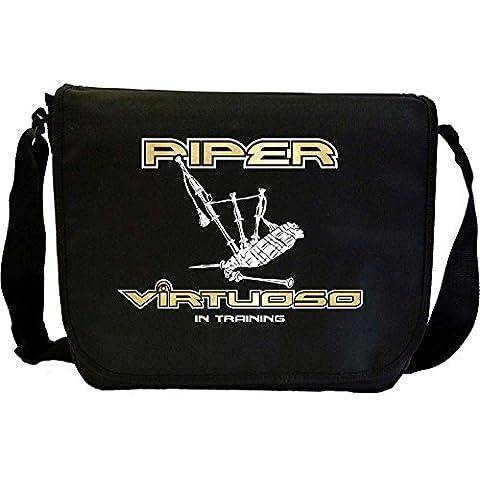 Bagpipe Virtuoso - Sheet Music Document Bag Borsa Spartiti MusicaliTee