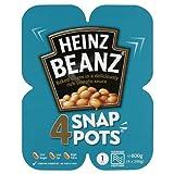 Heinz Beanz 4 Snap Pots 800g