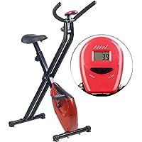 Preisvergleich für PEARL sports Sportgerät: Klappbarer Heimtrainer mit Trainings-Computer, 1,6 kg Schwungmasse (Trimmrad)