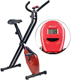 PEARL sports Ergometer: Klappbarer Heimtrainer mit Trainings-Computer, 1,6 kg Schwungmasse (Trainingsgeräte)