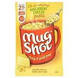 Mug Shot Macarrones Con Queso De Pasta 45g (Paquete de 6)