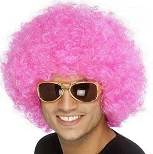Funky Pink Afro Wig (peluca)