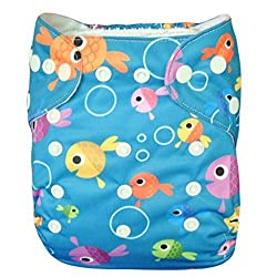 (LOVE MY) Baby Washable Reusable Cloth Diapers,breathable, Adjustable Snap S31