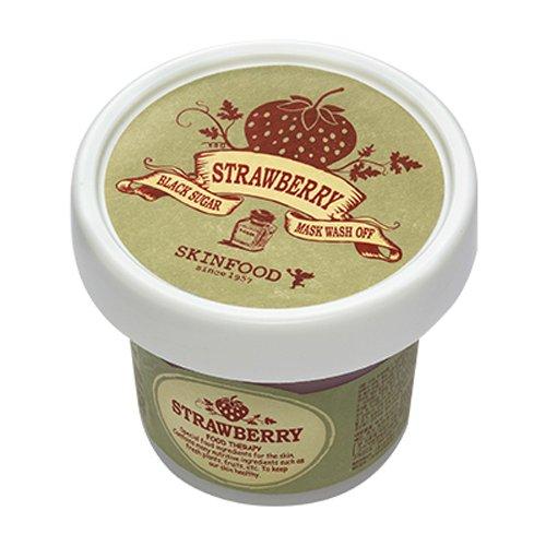 skin-food-black-sugar-strawberry-mask-wash-off-100g