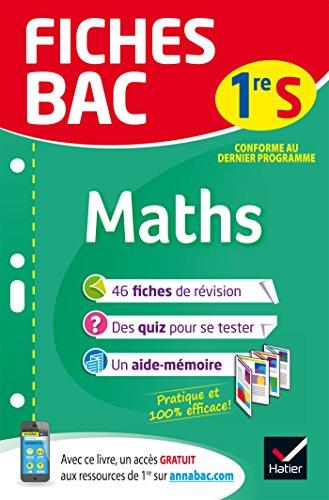 Fiches bac Maths 1re S: fiches de rvision Premire S