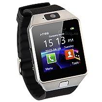 Buyee® DZ09 Bluetooth SmartWatch Handy-Uhr für Smartphone Samsung iphone HTC Android Phone with Kamera SIM