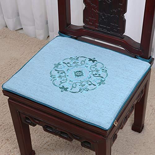 QTQHOME Kissen für Sofa Simple Stuhl Küche Esszimmer Stoßdämpfer für Esszimmerstuhl, dämpfend,...