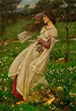 Kunstdruck/Poster: John William Waterhouse Windblumen - Hochwertiger Druck, Bild, Kunstposter, 40x60 cm