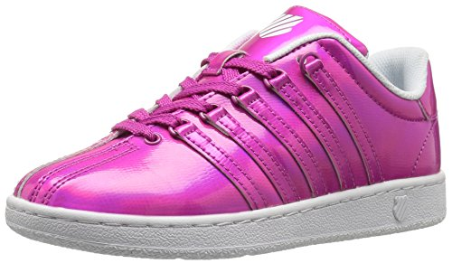 K-Swiss Classic VN Shine On Lackleder Turnschuhe Pink/White
